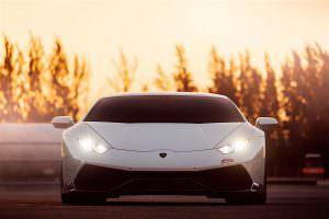 Фото   Свет фар Lamborghini Huracan