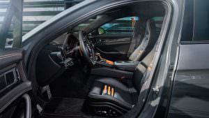 Тюнинг салона Porsche Panamera от TechArt