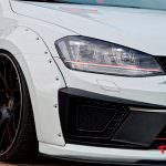 Спортивный бампер Volkswagen Golf GTI в духе Golf R400