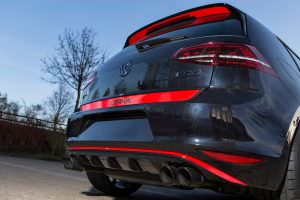 Фото | Диффузор заднего бампера для VW Golf 7 от ABT