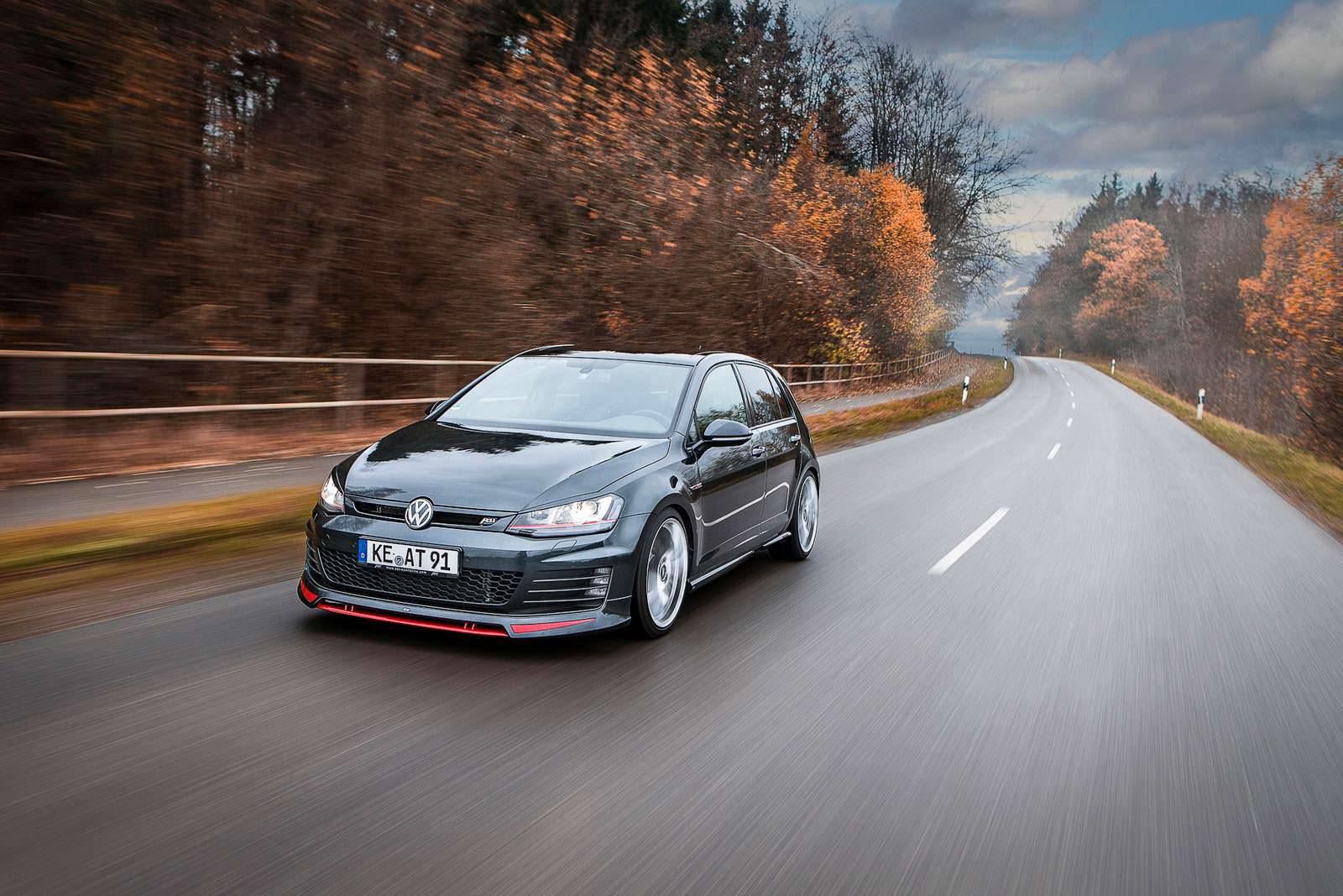 Немецкое ателье ABT выкатило тюнингованный VW Golf