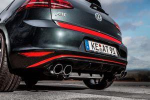 Фото | Выхлопные трубы для Volkswagen Golf 7 от ABT