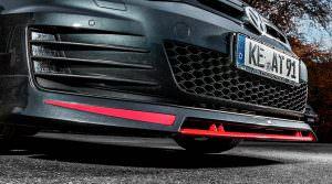 Фото | Двойной сплиттер для Volkswagen Golf 7 от ABT
