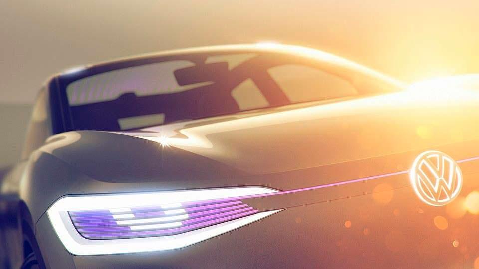 Volkswagen I.D.: новый купе-кроссовер с автопилотом