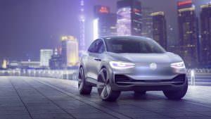 Электрокроссовер Volkswagen I.D. Crozz Concept 2017