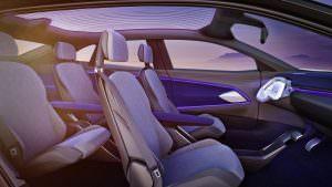 Сиденья в салоне Volkswagen I.D. Crozz Concept