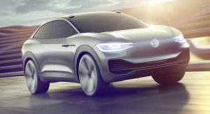 Электрический концепт автопилотом Volkswagen I.D. Crozz