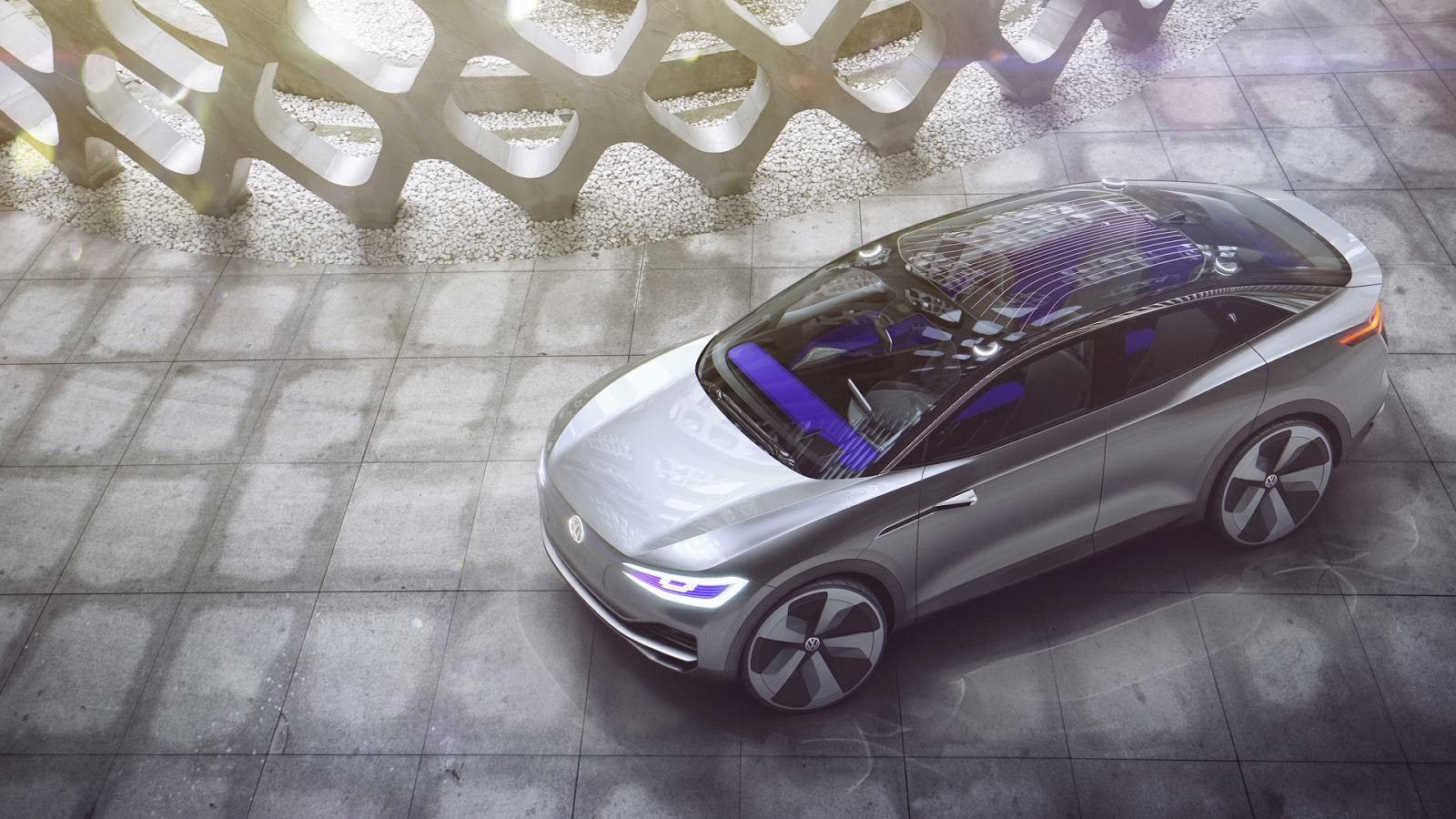 Фото   Volkswagen I.D. Crozz Concept