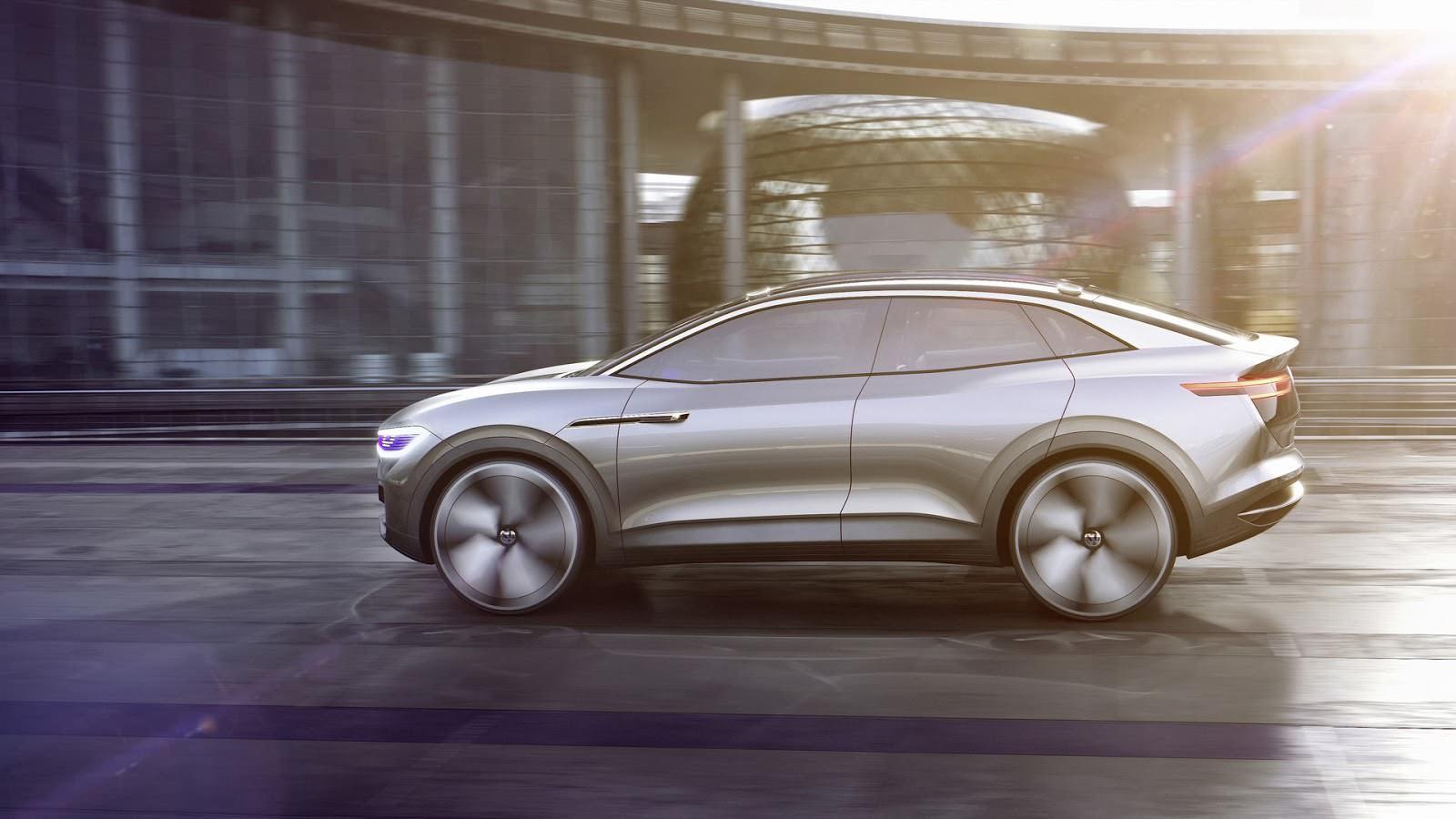 Новый концепт VW I.D. Crozz 2017 года