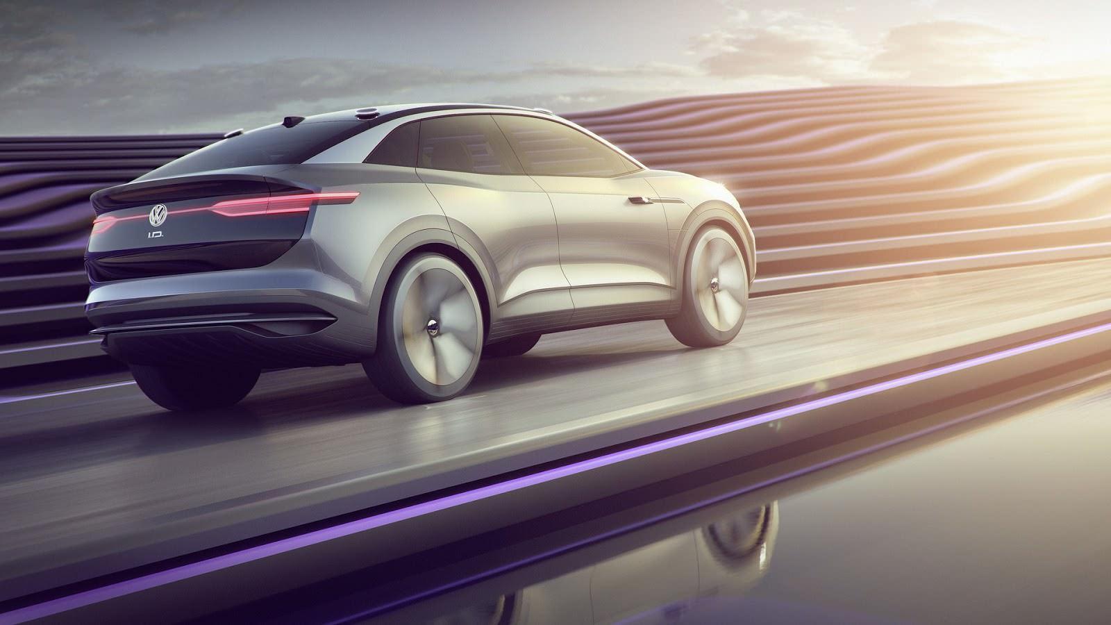 Volkswagen I.D. Crozz Concept 2017 года