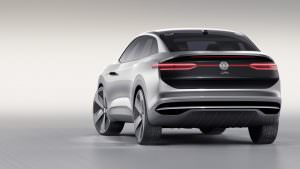 Дизайн задней части Volkswagen I.D. Crozz. Концепт 2017 года