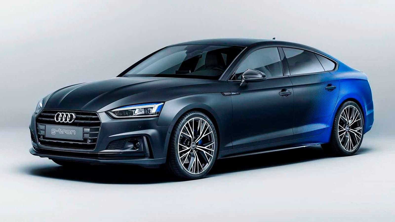 Компания Audi презентует вАвстрии концепт модели A5 Sportback G-Tron