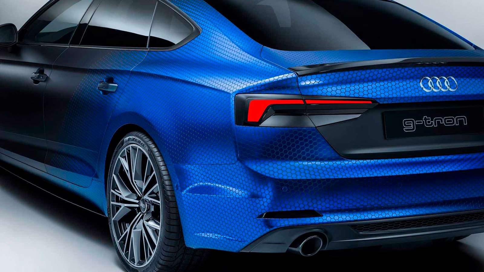 Футуристические задние фонари Audi A5 Sportback G-Tron