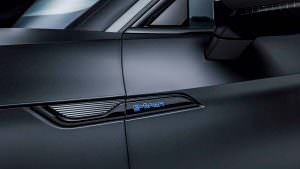 Таблички G-Tron на дверях Audi A5 Sportback G-Tron