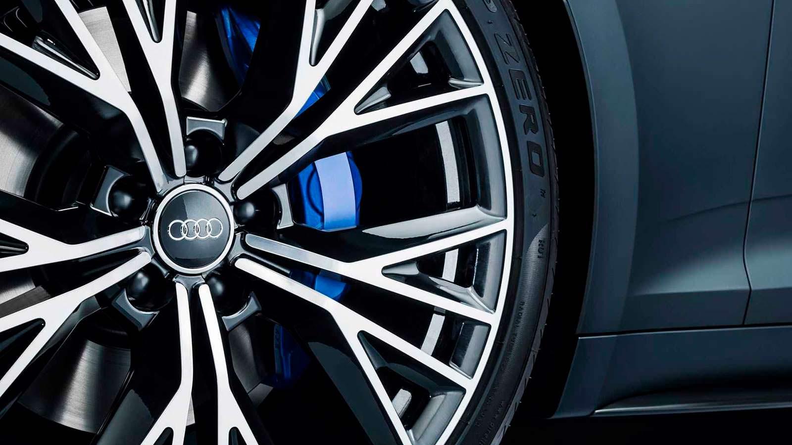 Колеса с синими суппортами Audi A5 Sportback G-Tron