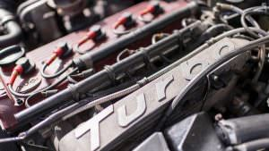 Турбо-двигатель Audi Sport Quattro 1984 года выпуска