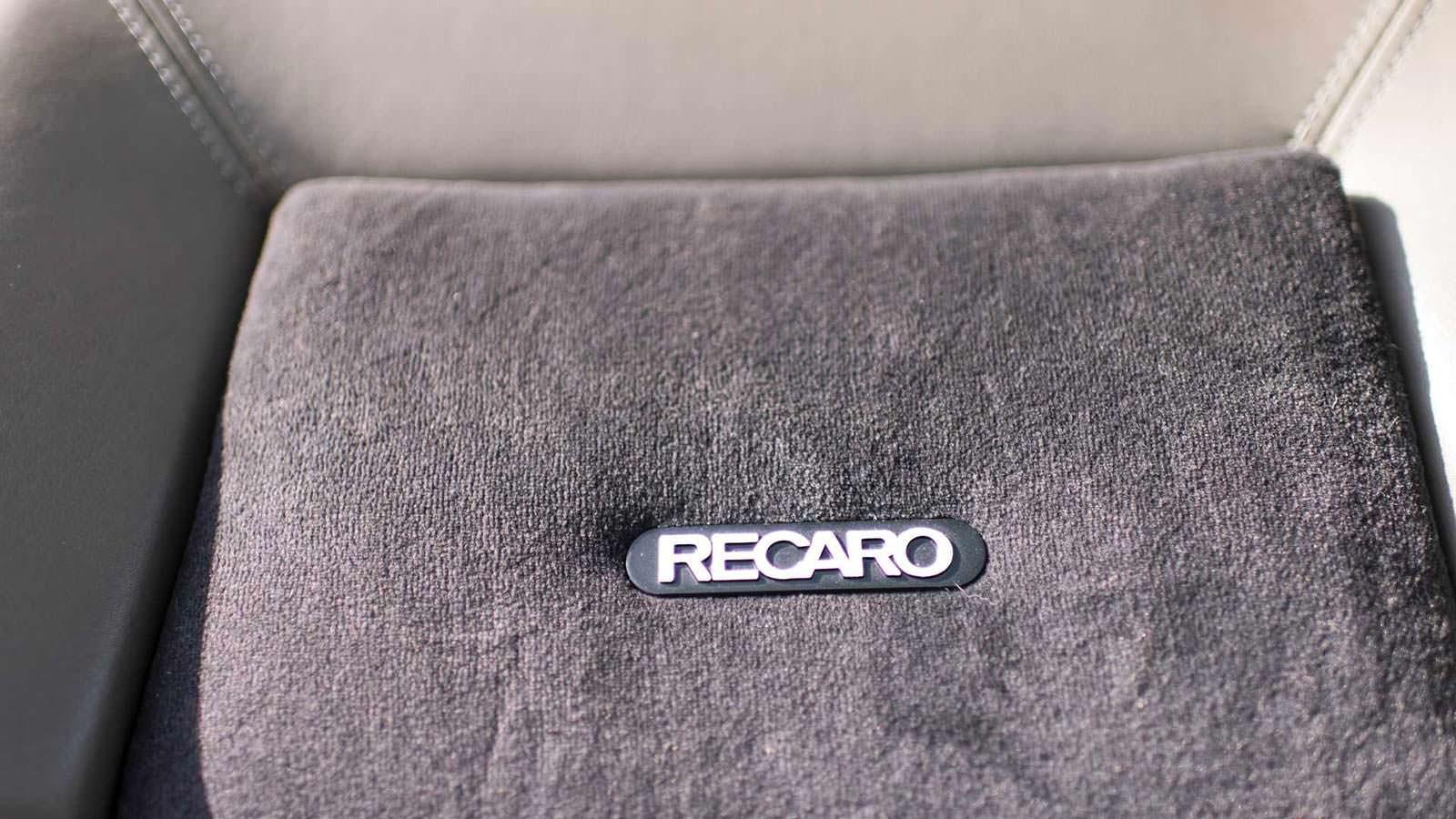 Сиденья Recaro в салоне Audi Sport Quattro