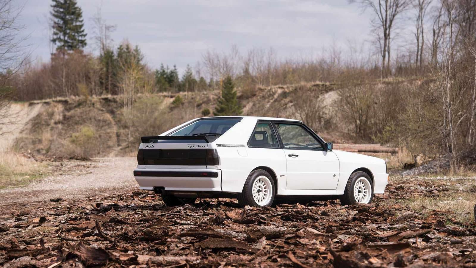 1984 Audi Sport Quattro с пробегом 90 500 км.