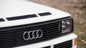 Радиаторная решетка Audi Sport Quattro 1984 года выпуска