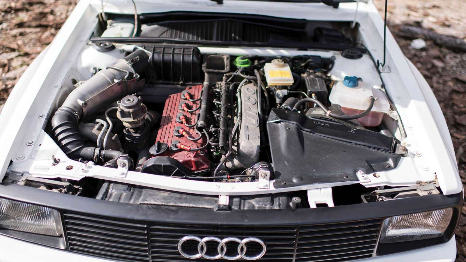 Двигатель Audi Sport Quattro 1984 года выпуска