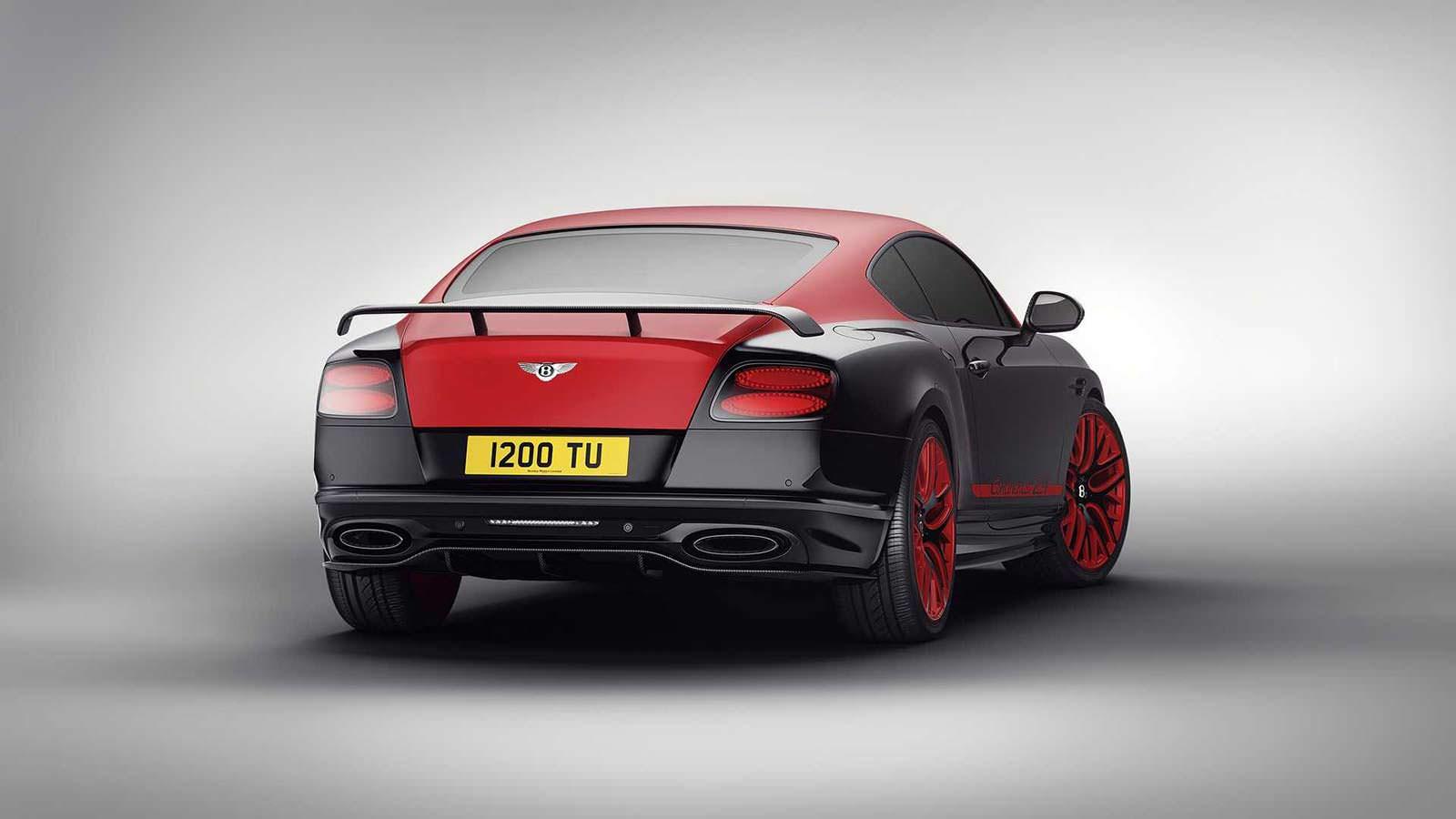 Фото   Красно-чёрный Bentley Continental 24