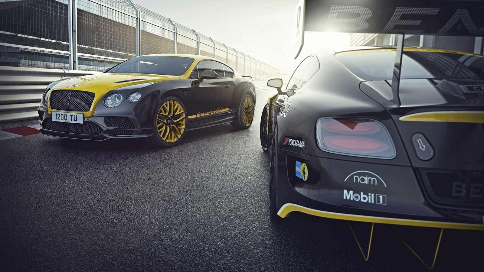 Гранд-турер Bentley Continental 24