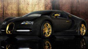 Bugatti Veyron Mansory Linea Vincero 2008 года выпуска