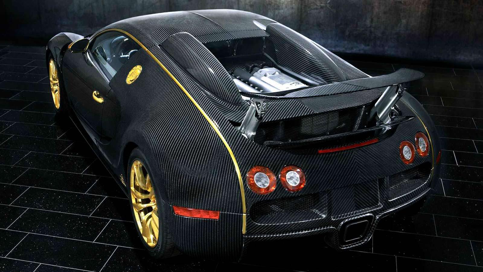 Необычайный  Бугатти  Veyron выставлен на реализацию