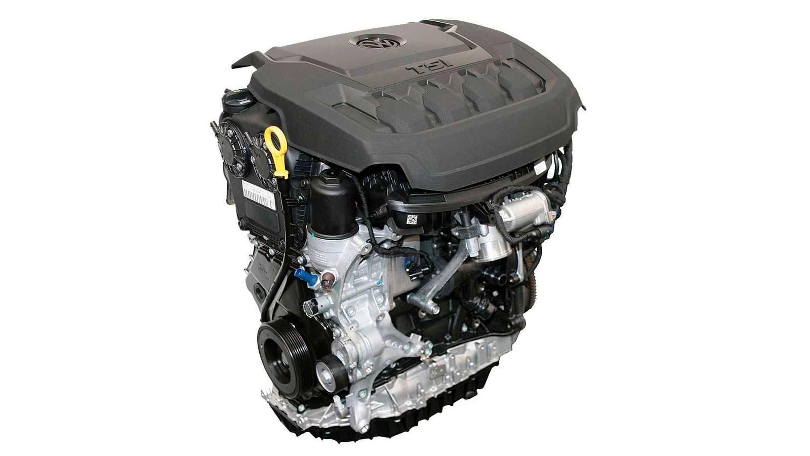 Модернизированный двигатель 2.0 TSI EA888