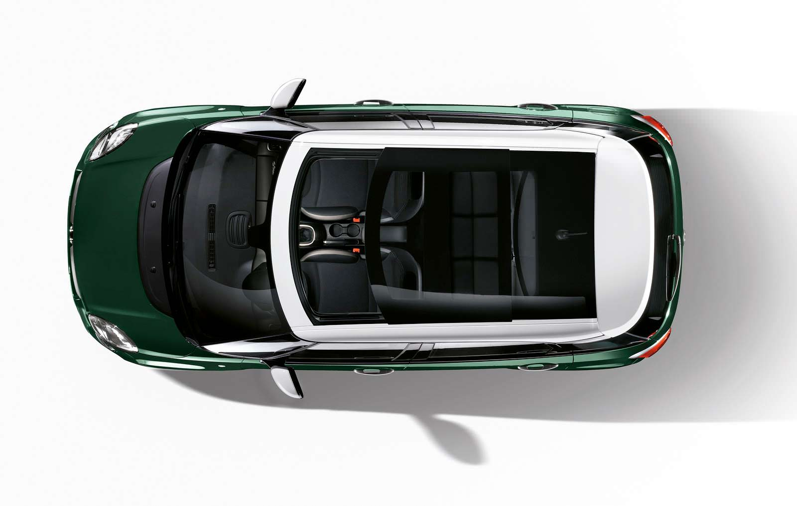 Стеклянная крыша Fiat 500L