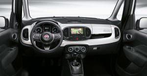 Фото салона Fiat 500L 2017 года