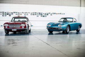 Культовый дизайн Maserati 5000 GT и Lamborghini 350 GT