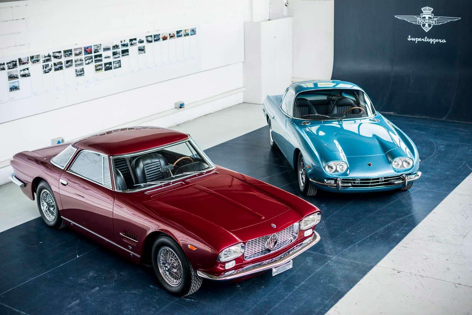 Коллекционные Maserati 5000 GT и Lamborghini 350 GT #265