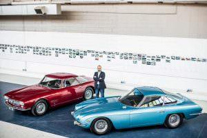 Отреставрированные Maserati 5000 GT и Lamborghini 350 GT
