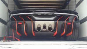 Выхлопные трубы по центру Lamborghini Centenario LP770-4