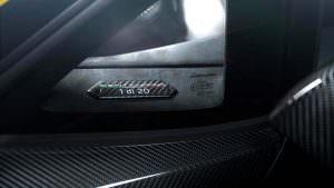 Табличка #1 из 20 Lamborghini Centenario LP 770-4