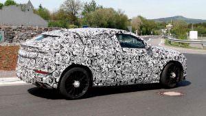 Шпионские фото Lamborghini Urus в Нюрбургринге