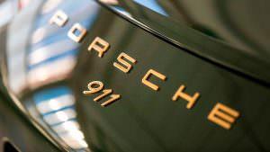 Porsche 911 на заводе компании в Цуффенхаузене