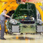 Фото   Производство Porsche 911 на заводе в Цуффенхаузене