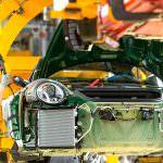 Конвейер на заводе в Цуффенхаузене. Миллионная Porsche 911