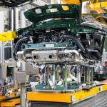 Конвейер на заводе в Цуффенхаузене. Миллионный Porsche 911