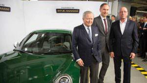 Вольфганг Порше и миллионный Porsche 911 Carrera S