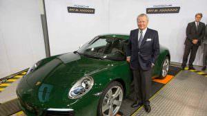 Вольфганг Порше и миллионный Porsche 911. 2017 год
