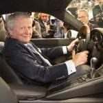 Вольфганг Порше за рулем Porsche 911. 2017 год