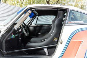 Сиденья-ковши Porsche 934/5 Martini Racing