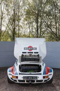 Моторный отсек Porsche 934/5 Martini Racing