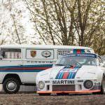 Porsche 935 Martini и VW T2