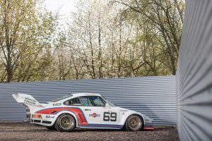 Porsche 934/5 Martini Racing 1976 года выпуска