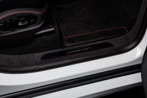 Дверные пороги Porsche Cayenne Magnum Sport 30 Years