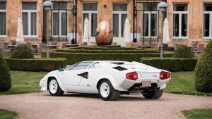 Фото   Позолоченный Lamborghini Countach 1987 года выпуска